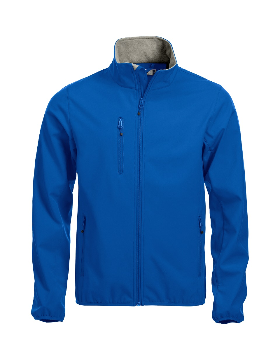 Basic Softshell Jas Heren