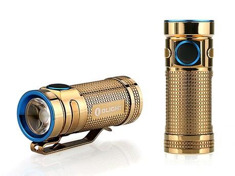 Olight SMINI Baton Limited edition Copper Rose Gold
