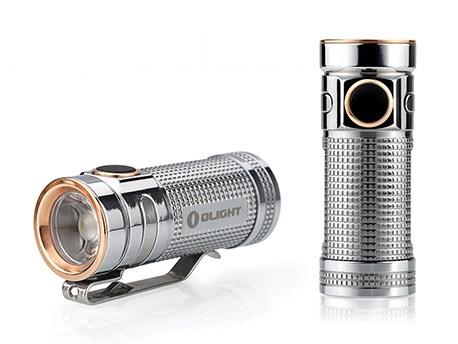 Olight SMINI Baton Limited edition Titanium Polished