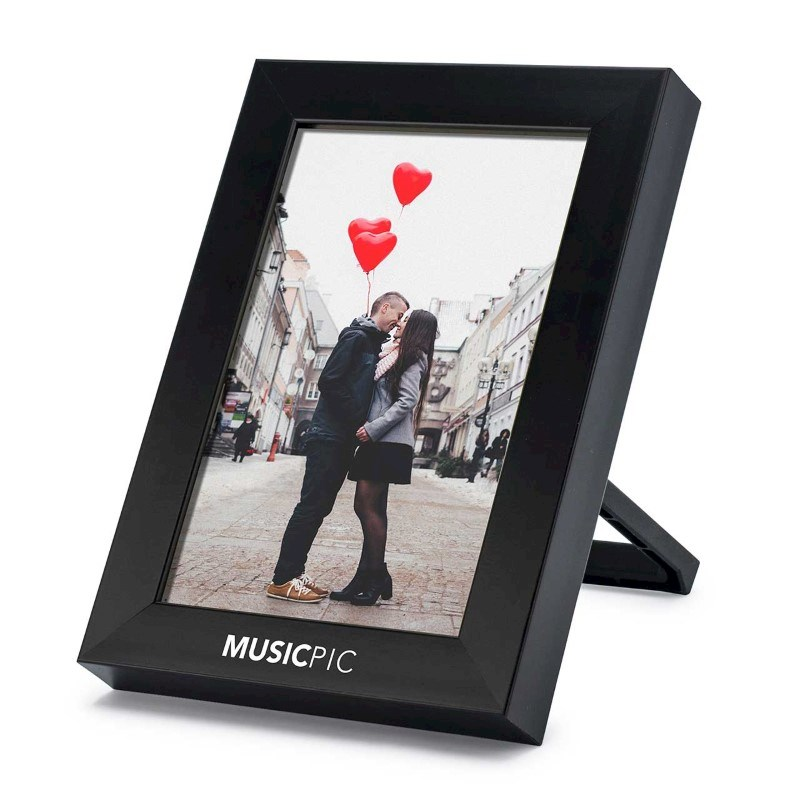 MusicPic 4R PhotoFrame - black
