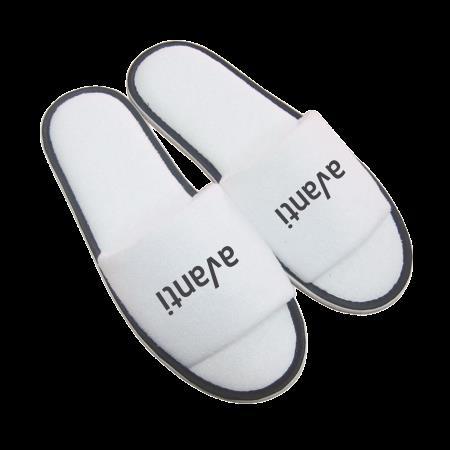 Paar slippers, open teen