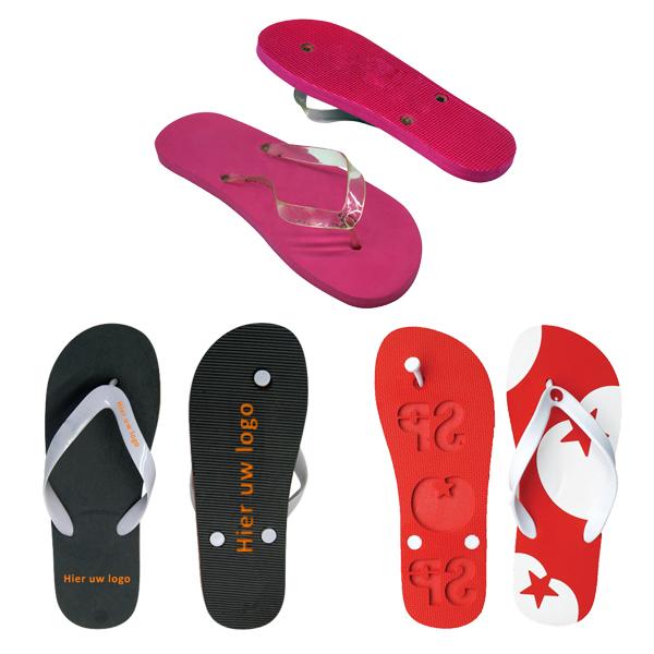 Logo slipper