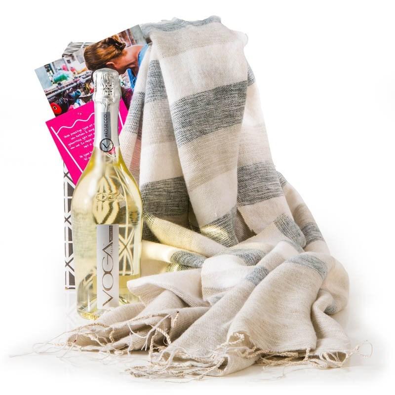 Kerstpakket Sjaal met Verhaal & Voga