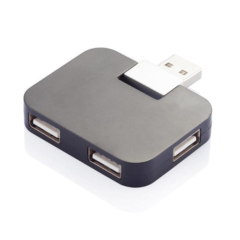 USB 20 hub, zwart