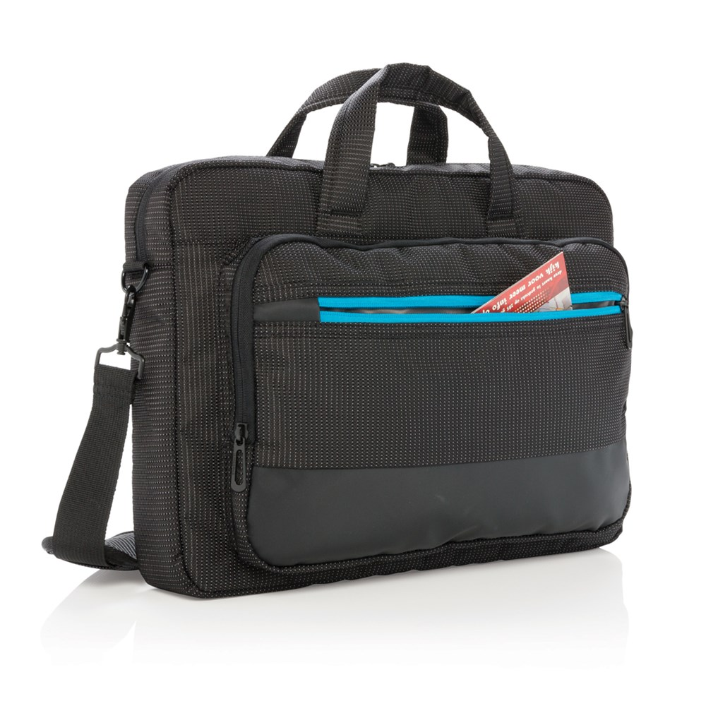 "Elite 15,6"" USB laptop tas, zwart"