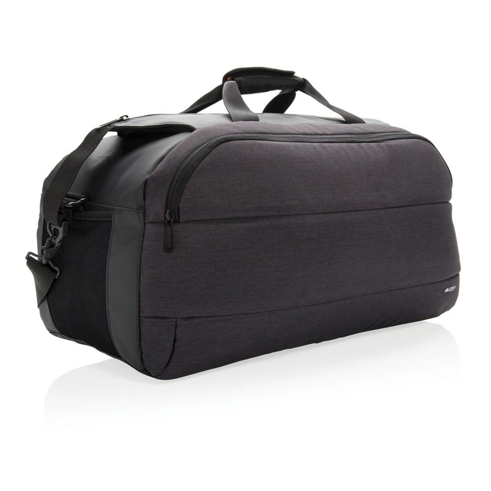 Modern weekend tas, zwart