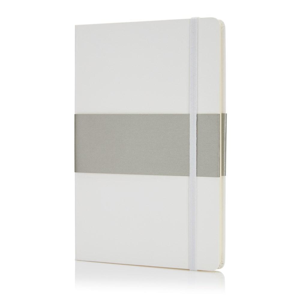 Deluxe hardcover A5 notitieboek, zwart