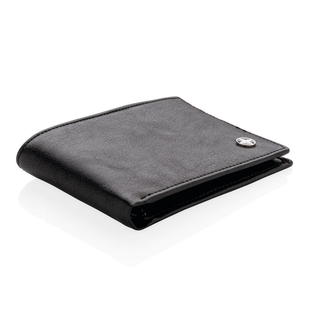 RFID anti-skimming portemonnee, zwart