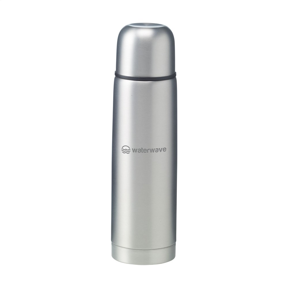Frosted bottle thermofles