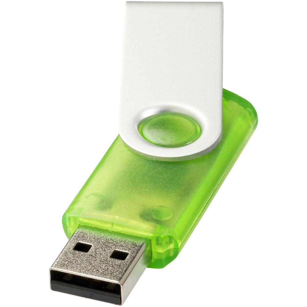 Rotate translucent USB 2GB