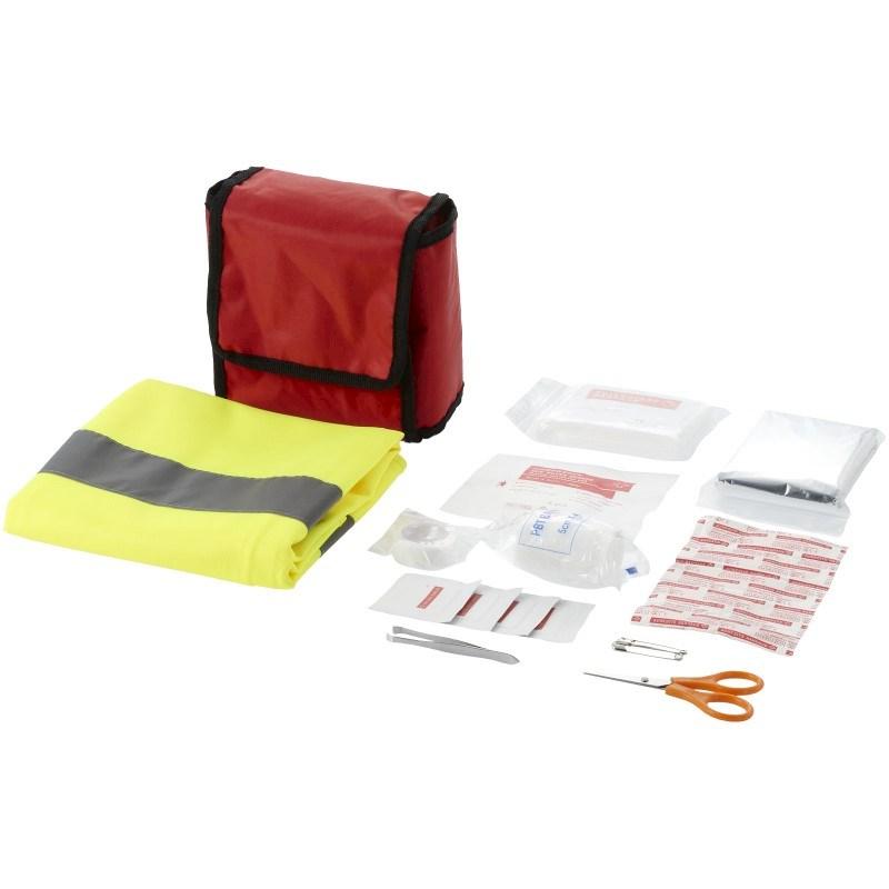 18 delige EHBO kit met veiligheidsvest