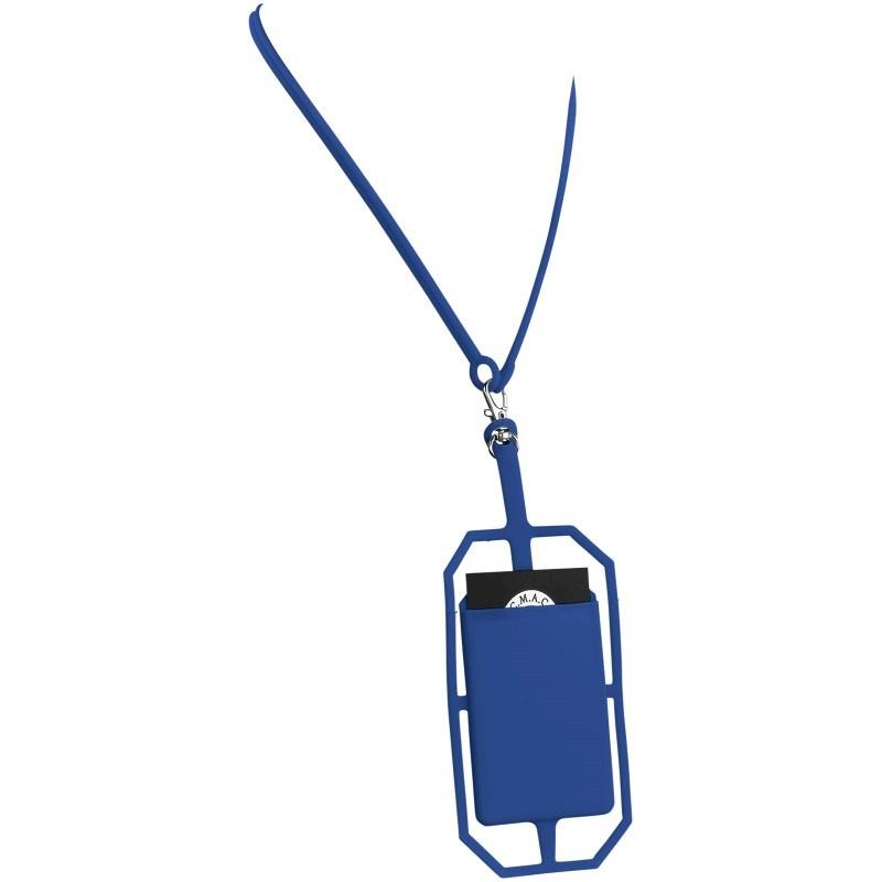 Siliconen RFID kaarthouder inclusief lanyard