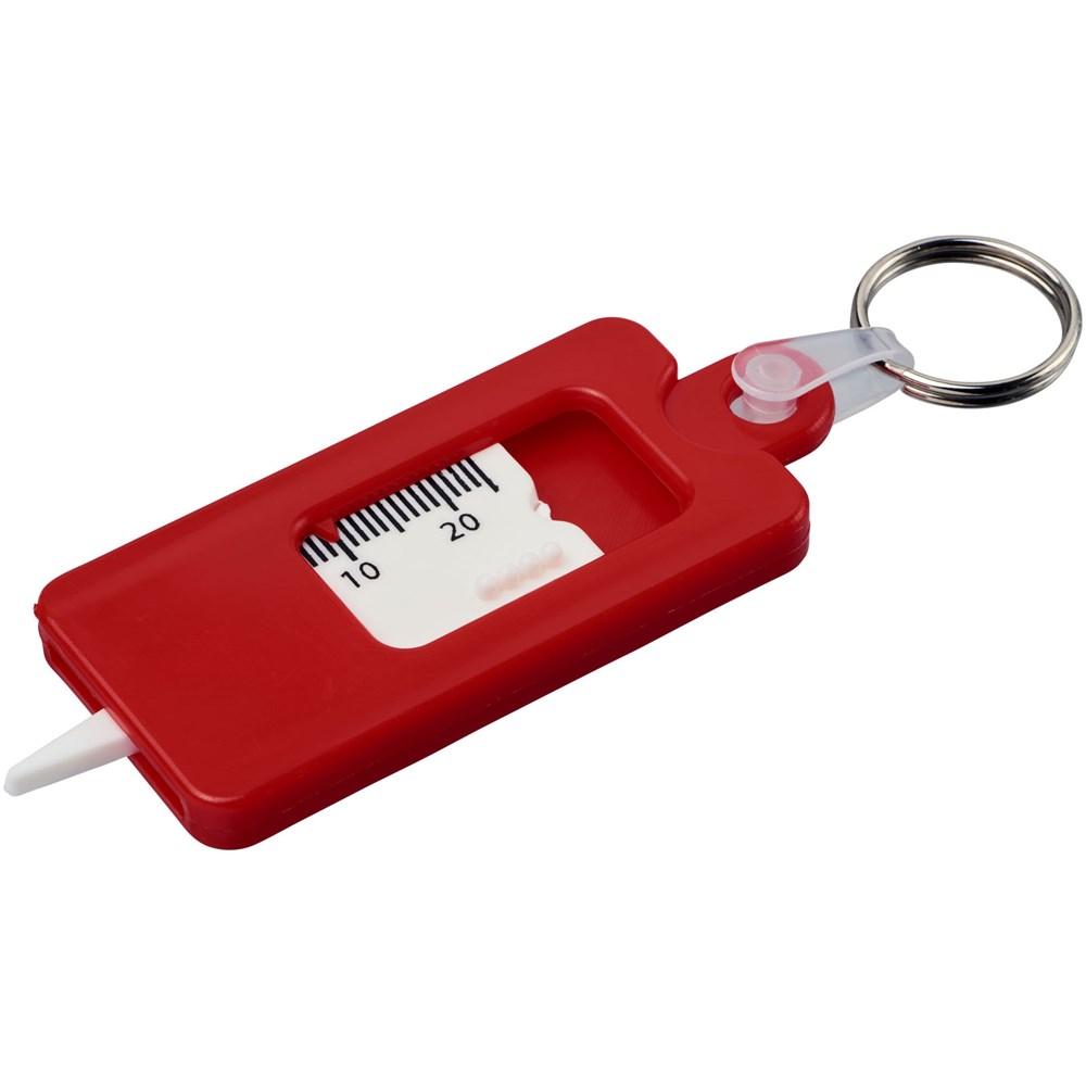 Check it bandenprofielmeter met sleutelring