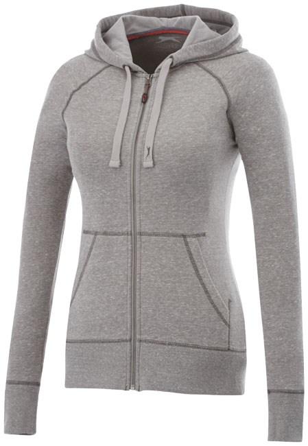 Groundie dames sweater met volledige rits