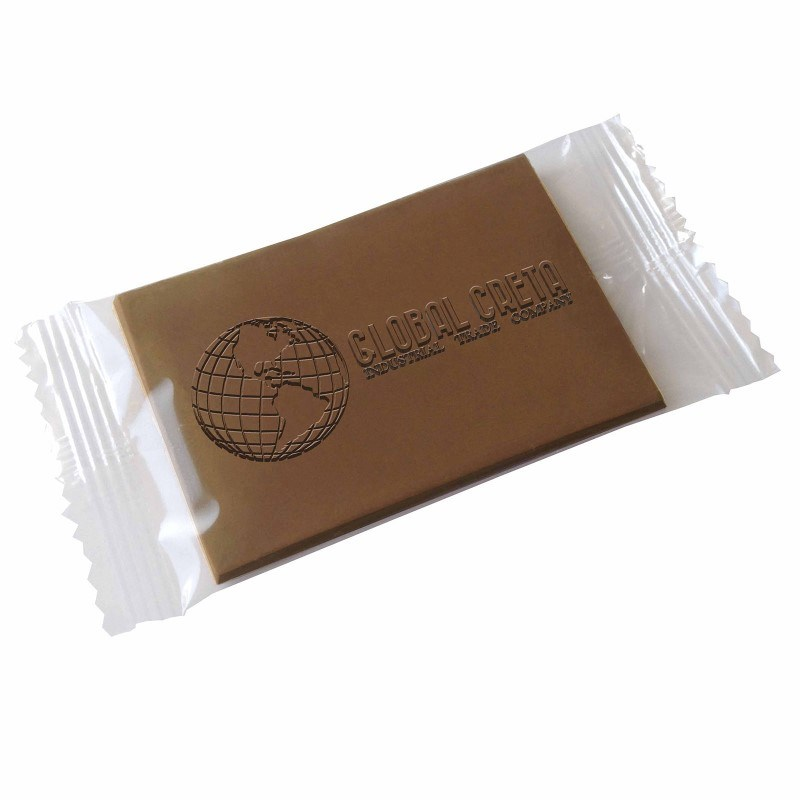 Chocolade creditcard in folie