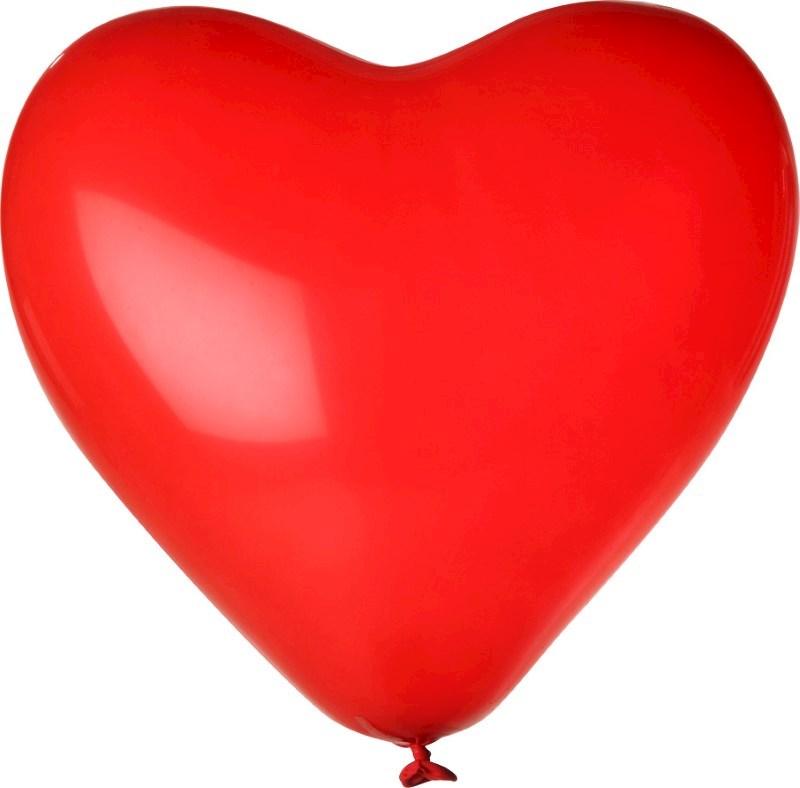Bedrukte hartballon
