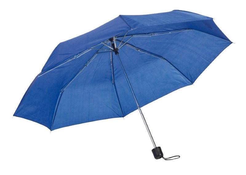 Pocket umbrella Picobello, navy blue