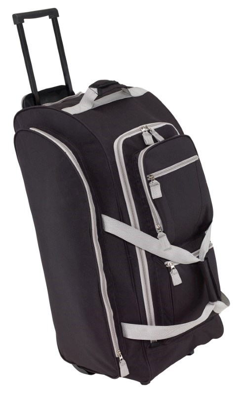 Trolley-travelbag 9P, 600D, black