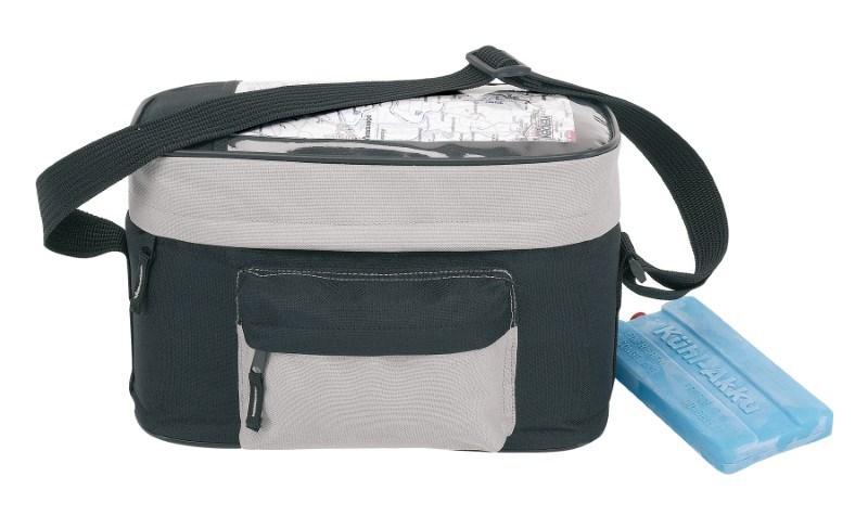 Handle bar cooler bagBike600D blkgrey