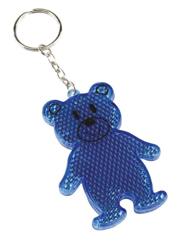 Reflector bear, Teddy, blue