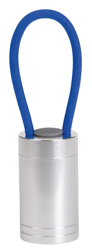 LED loop flashlight Luminous, blue