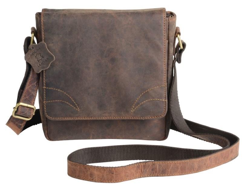 Bag Genuine Leather WILDERNESS, brown