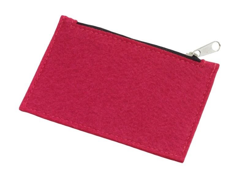 felt coin purse Collector, grey