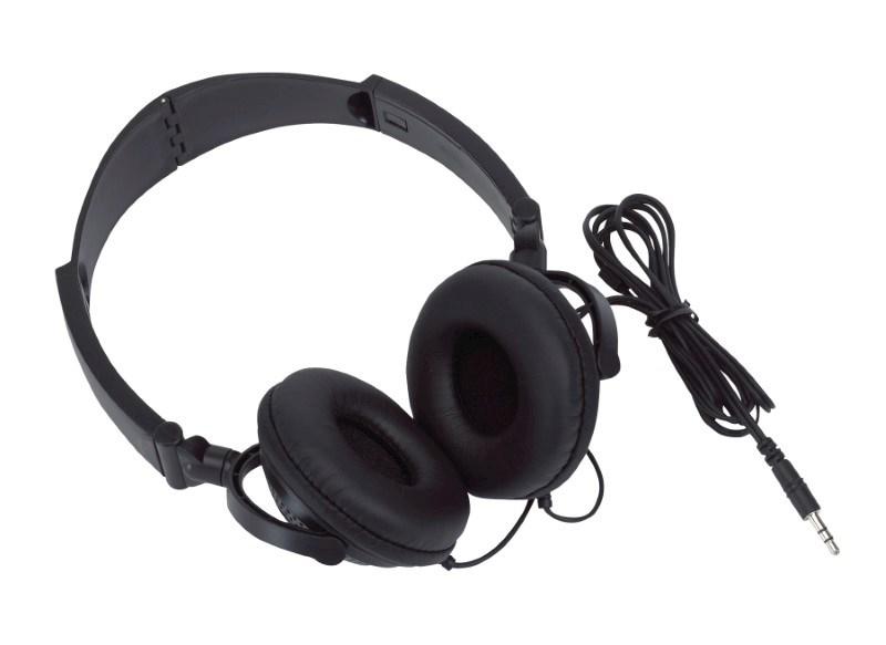 Foldable Headphones ROCKER, black