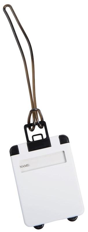 Luggage tag Wanderlust, white