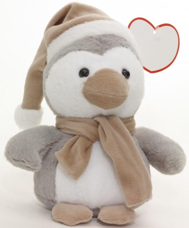 plush penguin Pipito grey