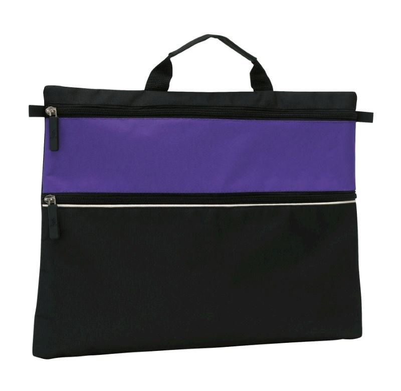 Document bag File, 600D, black