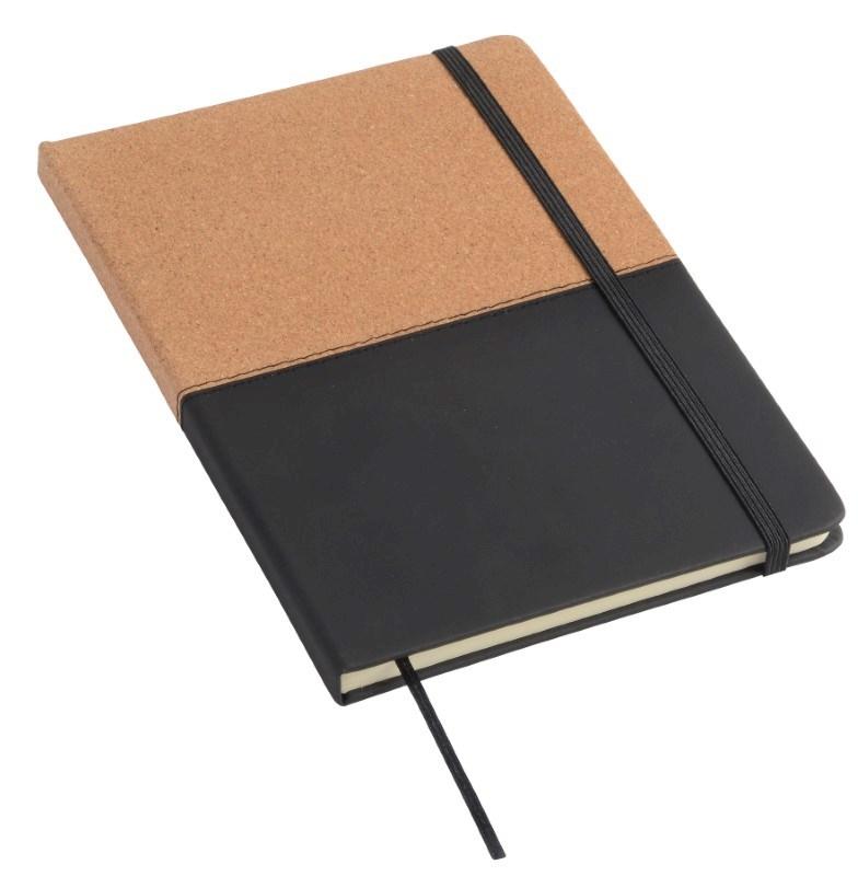 Notebook CORKY A5 BrownWhite