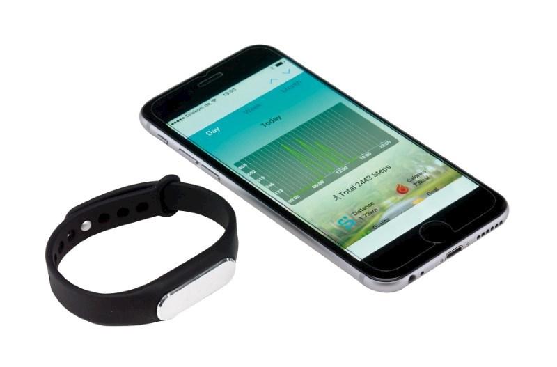 Fitness bracelet TRACKER, black