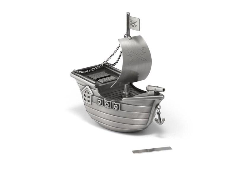 Spaarpot Piratenboot, mat