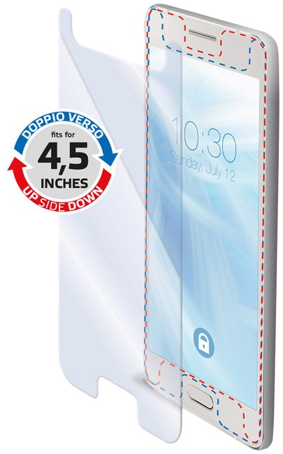 Universeel beschermglas voor Smartphone tot 45