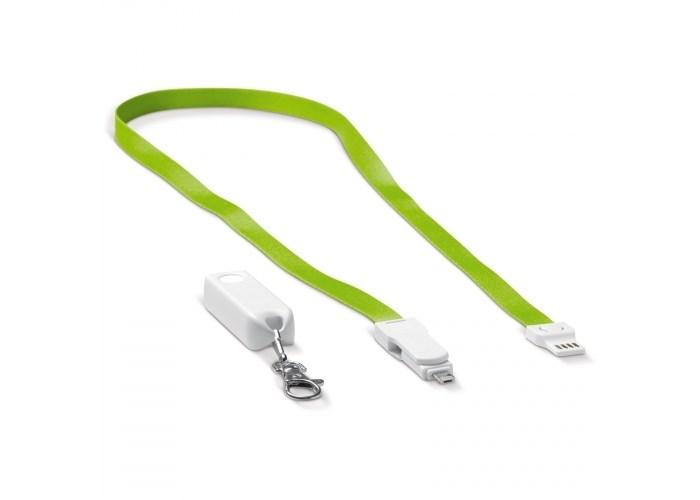 Keycord en oplaadkabel kabel 3-in-1
