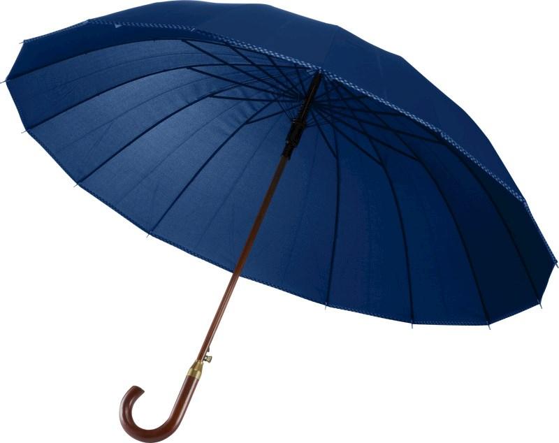 Automatische paraplu van pongee