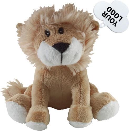 Pluchen knuffel 'leeuw'