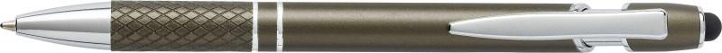 Aluminium balpen met stylus