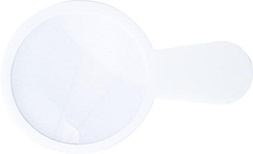 Ultra dun plastic vergrootglas, model 'loep'