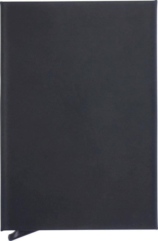 Aluminium RFID kaarthouder met rubberen toplaag