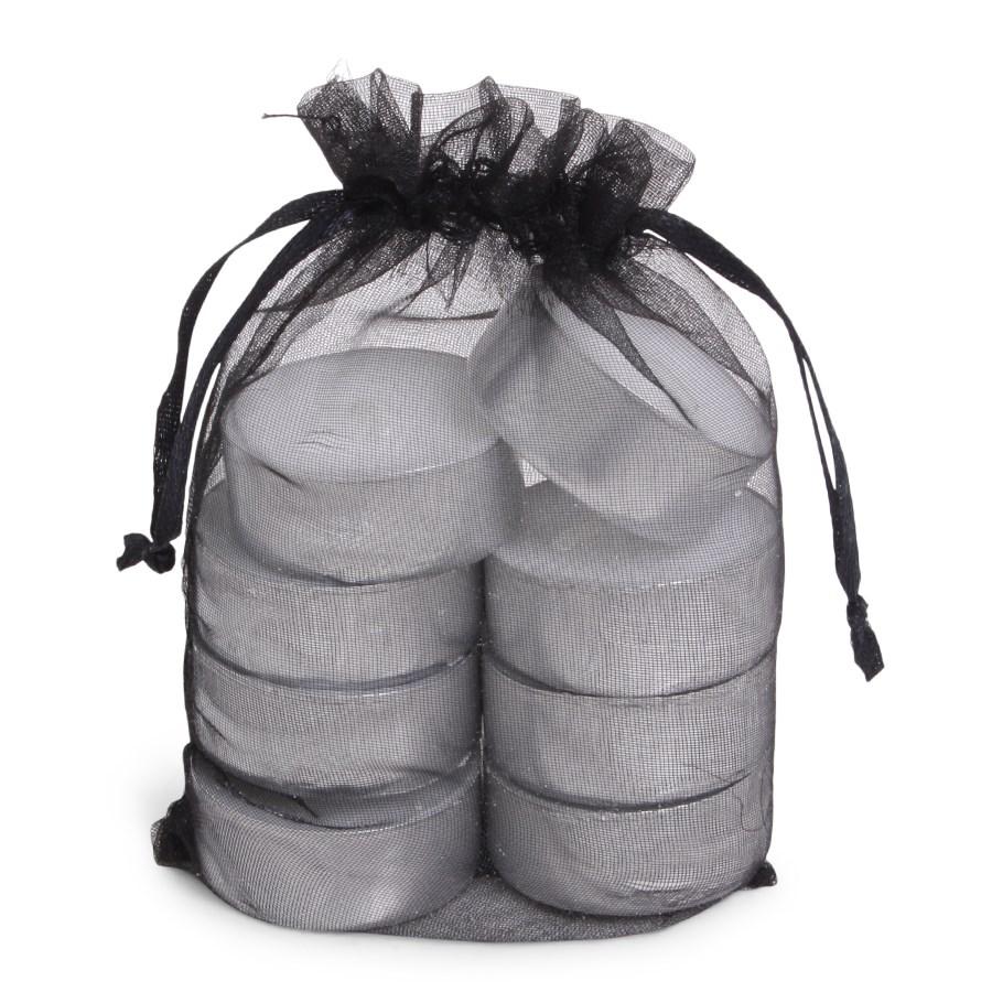 Organza Tealight Bag 8 Black