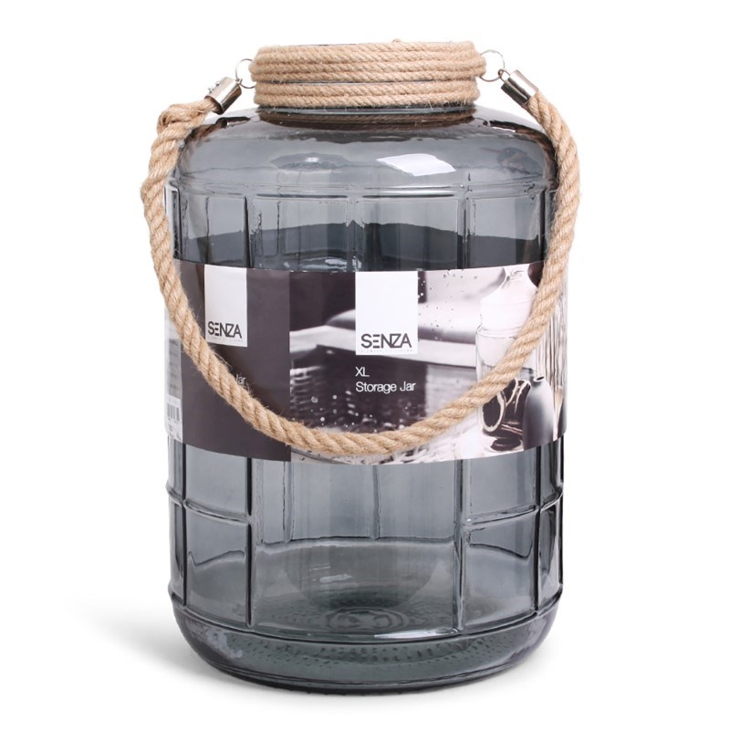 SENZA Glass Jar XL Transparant