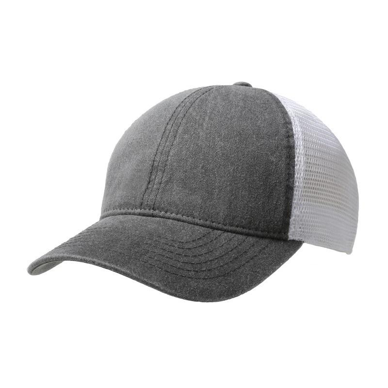 Washed Cotton Soft Mesh Trucker Cap