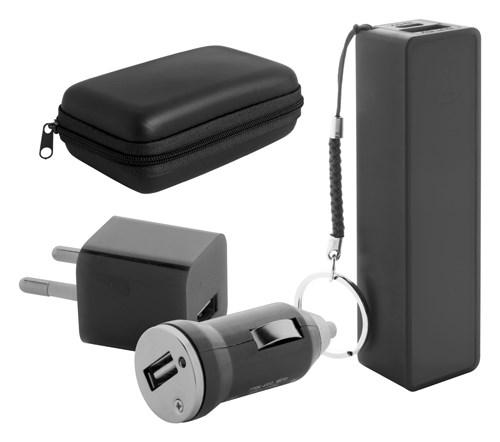 USB lader en powerbank set