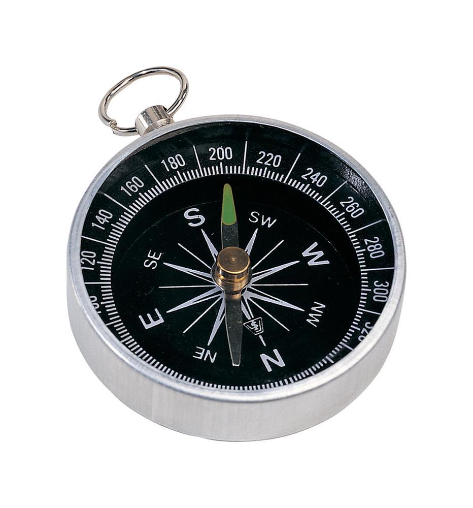 metalen kompas met sleutelring