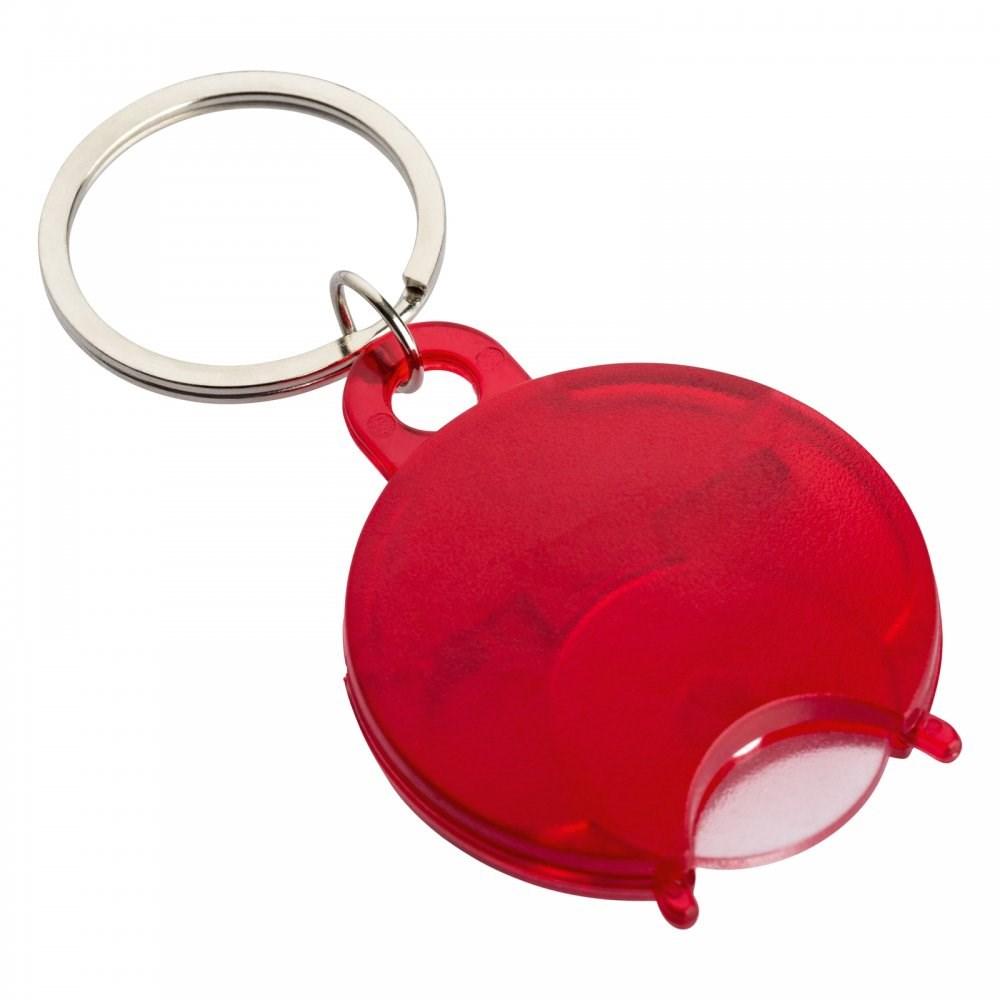 Winkelwagenmunthouder sleutelhanger REFLECTS-TALLAGHT