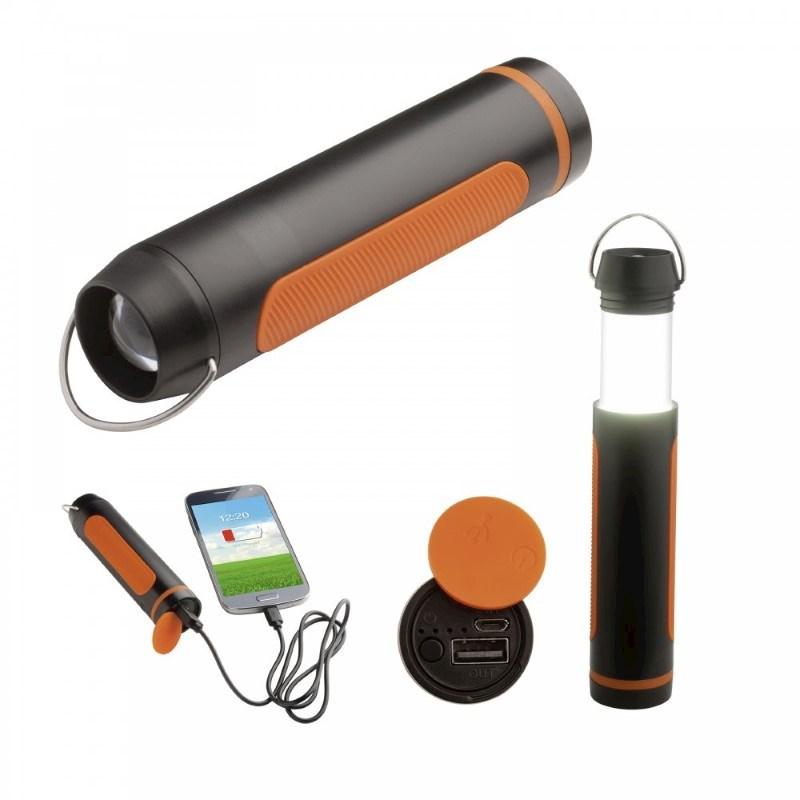 Campinglamp met powerbank REFLECTS-SAN BERNARDO
