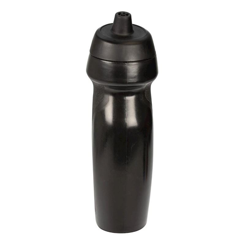 Bidon sportfles Zwart580 ml, rubber grip, BPA Free