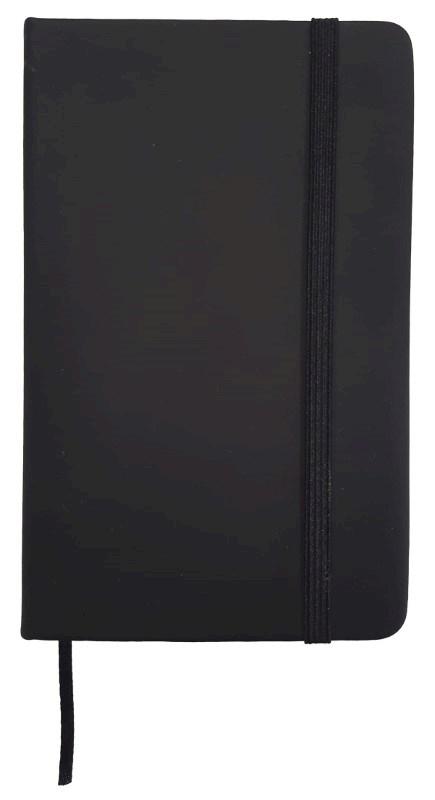 Notitieboekje Zwart A5 Formaat Notebook A5 70 grams papier